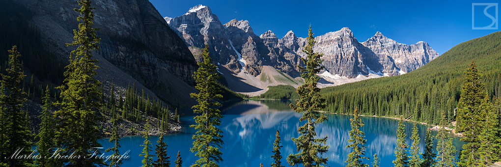 Lake Moraine Banff National Park Rocky Mountains Kanada