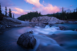 Mystic River Kananaskis Country Kanada