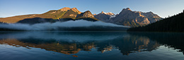 silent morning Banff National Park Kanada